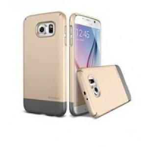 Пластиковый матовый непрозрачный сборный чехол повышенной защиты для Samsung Galaxy S6
