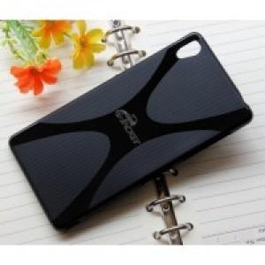 Силиконовый X чехол для Sony Xperia Z3 Черный