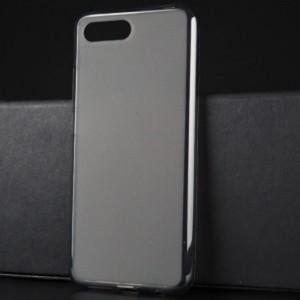 Силиконовый матовый полупрозрачный чехол для Huawei Honor 10 Серый