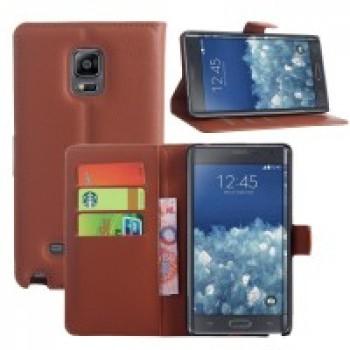 Чехол портмоне подставка для Samsung Galaxy Note Edge