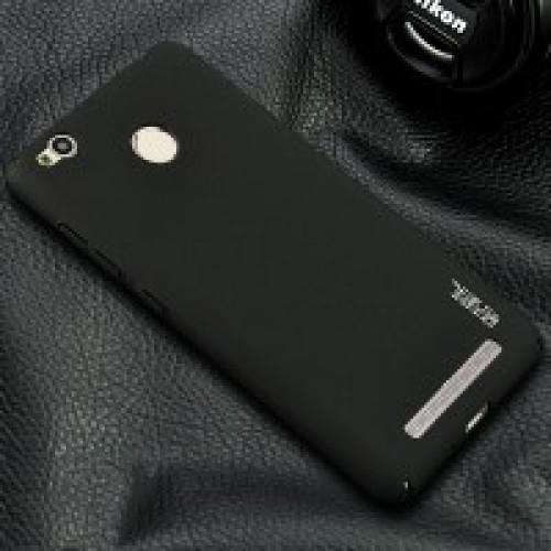 Пластиковый непрозрачный матовый чехол металлик с защитой торцов для Xiaomi RedMi 3 Pro/3S
