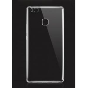 Силиконовый глянцевый транспарентный чехол для Huawei P9 Lite