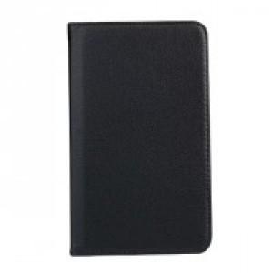 Роторный чехол книжка подставка на непрозрачной поликарбонатной основе для Samsung Galaxy Tab A 7 (2016) Черный