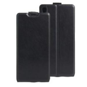 Чехол вертикальная книжка на силиконовой основе с отсеком для карт на магнитной защелке для Sony Xperia XA Ultra