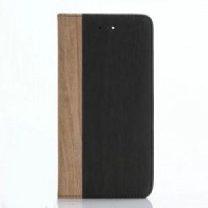 Чехол портмоне подставка текстура Дерево на пластиковой основе для Iphone 7 Plus/8 Plus