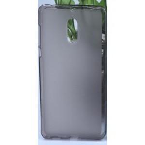 Силиконовый матовый полупрозрачный чехол для Nokia 6