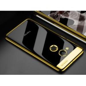 Силиконовый глянцевый полупрозрачный дизайнерский фигурный чехол для Huawei Honor 6C Pro