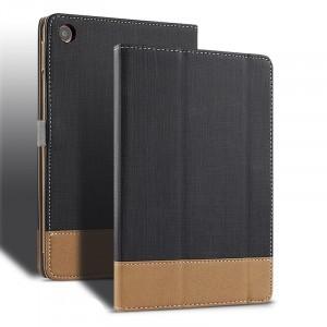 Сегментарный чехол книжка подставка текстура Ткань с рамочной защитой экрана и магнитной защелкой для Xiaomi Mi Pad 4 Plus