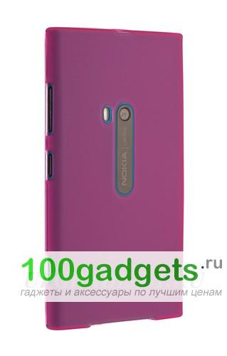 Чехол для Nokia Lumia 920 силиконовый Розовый