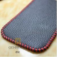 Кожаный мешок для Sony Xperia Z Черный