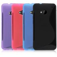 Силиконовый чехол S для HTC One M7