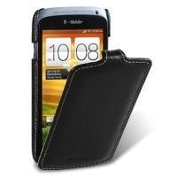 Чехол кожаный книжка вертикальная (нат. кожа) для HTC One S Z520e