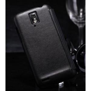 Кожаный чехол книжка горизонтальная для Huawei Ascend D1
