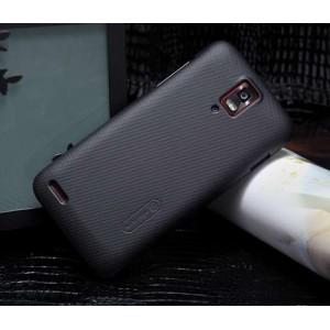 Пластиковый чехол матовый премиум для Huawei Ascend D1 Черный