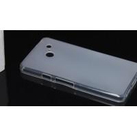 Силиконовый чехол для Huawei Ascend D2 Белый