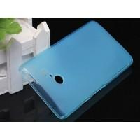 Силиконовый чехол для Huawei Ascend D2 Голубой