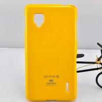 Чехол силиконовый для LG Optimus G E973 Желтый