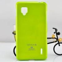 Чехол силиконовый для LG Optimus G E973 Зеленый