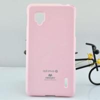 Чехол силиконовый для LG Optimus G E973 Розовый