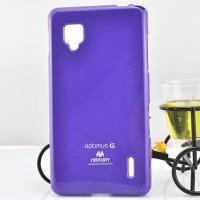 Чехол силиконовый для LG Optimus G E973 Фиолетовый