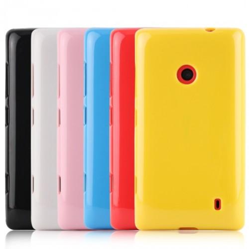Силиконовый чехол для Nokia Lumia 520/525 Голубой