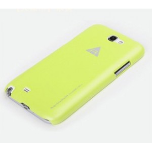 Чехол пластиковый для Samsung Galaxy Note 2 Желтый