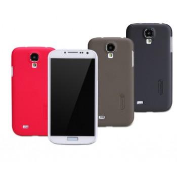 Пластиковый чехол матовый премиум для Samsung Galaxy S4