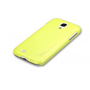 Пластиковый чехол для Samsung Galaxy S4 Желтый