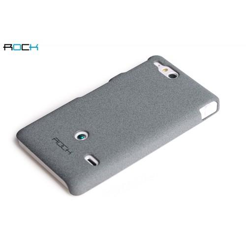 Чехол пластиковый матовый для Sony Xperia go