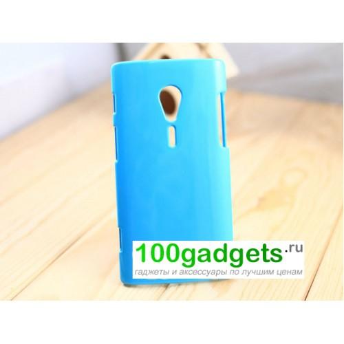 Чехол пластиковый для Sony Xperia ion Черный