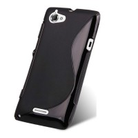 Силиконовый чехол S для Sony Xperia L Черный