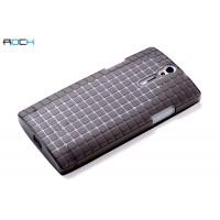 Чехол пластиковый текстурный для Sony Xperia S Черный