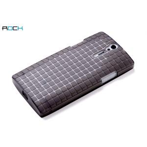 Чехол пластиковый текстурный для Sony Xperia S