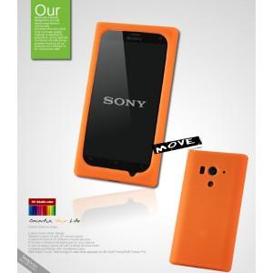 Чехол силиконовый премиум для Sony Xperia acro S
