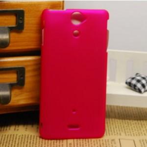 Чехол пластиковый для Sony Xperia V Красный