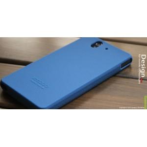 Силиконовый софт-тач премиум чехол для Sony Xperia Z Синий