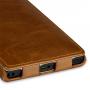 Кожаный эксклюзивный вертикальный чехол ручной работы (цельная телячья кожа) для Nokia Lumia 1020