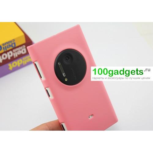 Пластиковый чехол для Nokia Lumia 1020 Красный