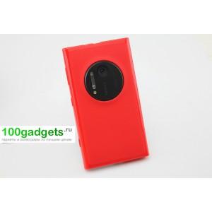 Силиконовый чехол для Nokia Lumia 1020 Красный