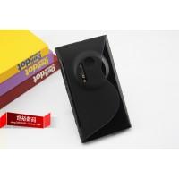 Силиконовый чехол S для Nokia Lumia 1020 Черный