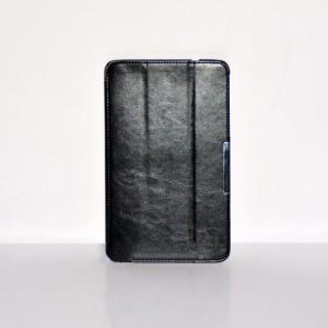 Чехол флип подставка сегментарный серия Leather Up для Lenovo ThinkPad 8 Черный