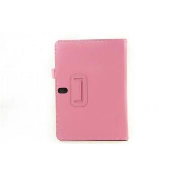 Чехол подставка серия Full Cover для Samsung Galaxy Note 10.1 2014 Edition Розовый