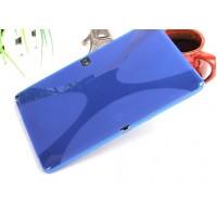 Силиконовый чехол X для Samsung Galaxy Note 10.1 2014 Edition Голубой