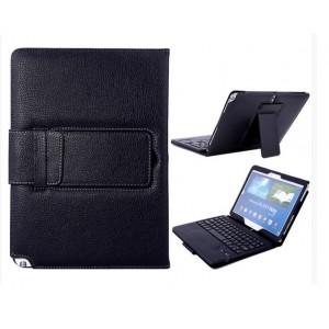 Кожаный чехол подставка (нат. кожа) с Bluetooth клавиатурой (English) для Samsung Galaxy Note 10.1 2014 editon