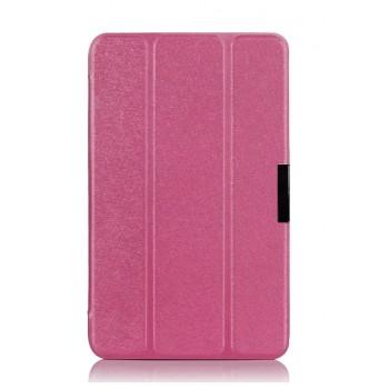 Чехол флип подставка сегментарный для ASUS VivoTab Note 8 Розовый