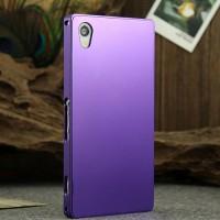 Металлический чехол для Sony Xperia Z1 Фиолетовый