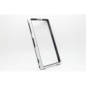 Бампер серия Dual Color для Sony Xperia Z1 Белый