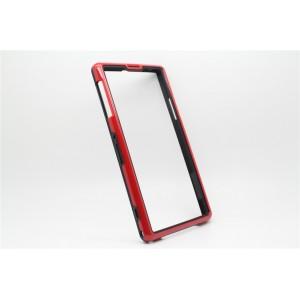 Бампер серия Dual Color для Sony Xperia Z1 Красный