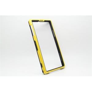 Бампер серия Dual Color для Sony Xperia Z1 Желтый