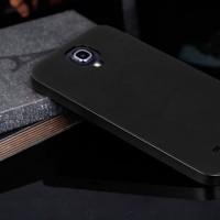 Металлический чехол серия Full Cover для Samsung Galaxy Mega 6.3 Черный